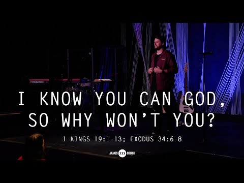 I Know You Can God, So Why Won't You?