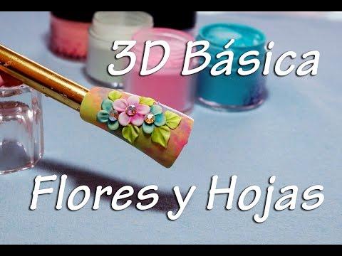 Como Hacer Una Flor En 3d Para Decorar Unas De Acrilico 1ra Parte