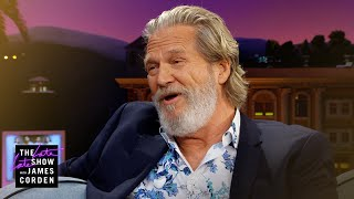 Jeff Bridges Doesn't Need Fake Horses for Films