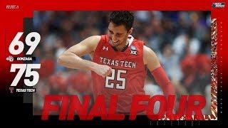 Gonzaga vs. Texas Tech: Elite 8 NCAA tournament extended highlights