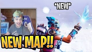 """Ninja Goes CRAZY Over *NEW* LIVE Cube FINAL Event """"BUTTERFLY""""! - Fortnite Best and Funny Moments"""