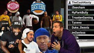 Team Cash vs Team Troydan All-Star Team Up! NBA 2K20