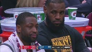 LeBron James Gets Booed Off The Court By Cavaliers Fans After Cavaliers Get Blown Out By Rockets!