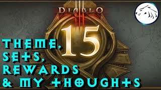 Diablo 3 Season 15 Boon Of Horadrim Theme, Sets, Cosmetics, And My thoughts