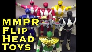 MMPR Flip Heads 90's Action Figures