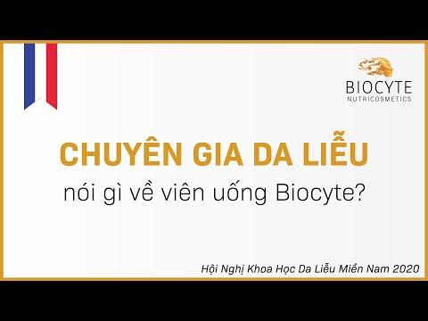 Chuyên gia da liễu nói gì về viên uống Biocyte?