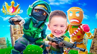 WE CARRIED AN 8 YEAR OLD IN PRO GAMES!
