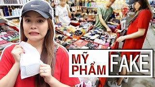 😱 Lần Đầu Đi Mua Mỹ Phẩm Fake 😷 Buying Fake Makeup ❤️  TrinhPham