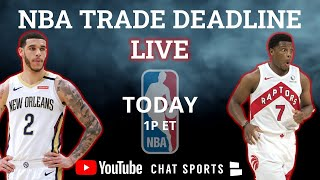 NBA Trade Deadline 2021 LIVE