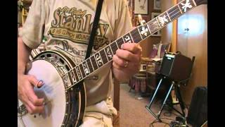 """""""Foggy Mountain"""" Roll Exercise for Banjo"""