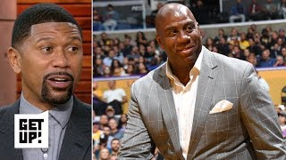 Ben Simmons-Magic Johnson incident shows Lakers need to 'fall back' – Jalen Rose | Get Up!