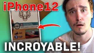 iPhone 12 : J'ai recu une info INCROYABLE