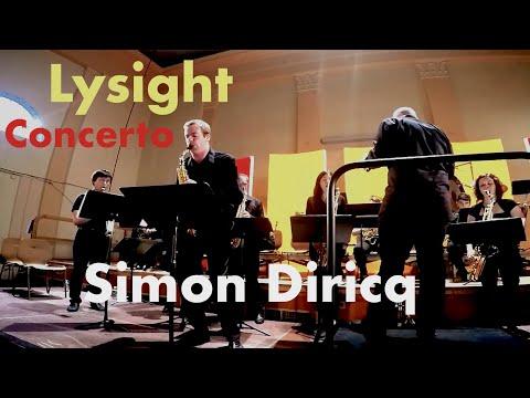 Michel Lysight - Concerto, Simon Diricq