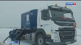 В Омске прошли испытания прототипа модульного аэродромного заправщика