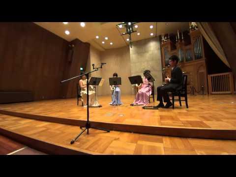 Tsukuba Saxophone Quartet - D.Maslanka - Recitation Book