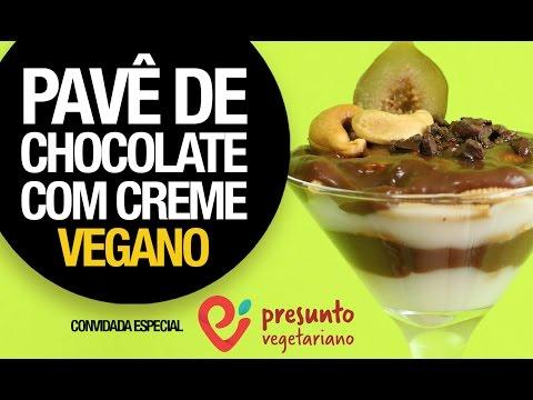PAVÊ DE CHOCOLATE VEGANO (ESPECIAL DE NATAL COM O PRESUNTO VEGETARIANO)
