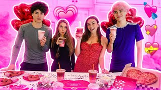 Trying Fun VALENTINE'S Treat's | Lexi Rivera & Pierson Wodzynski & Stokes Twins