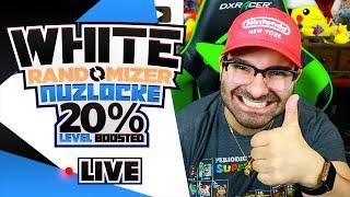 Pokemon White Randomizer Nuzlocke LIVE (20% Level Boost) Part 4