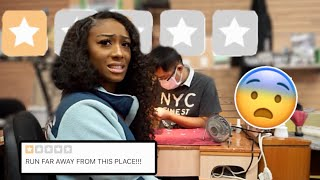GOING TO THE WORST REVIEWED NAIL SALON IN MY CITY (WTF..)