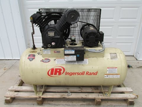 Ingersoll Rand 2545e10 V 120 Gallon 10 Hp Two Stage Air