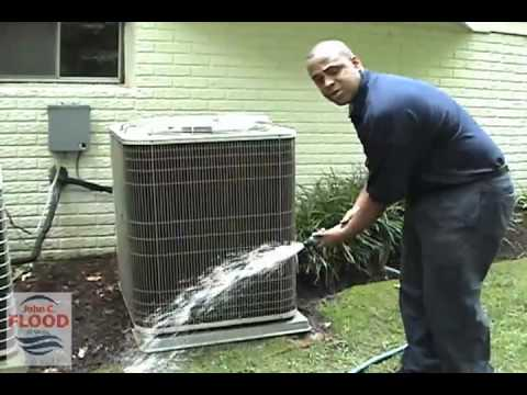 John C Flood Home Air Conditioning Condenser Cleaning