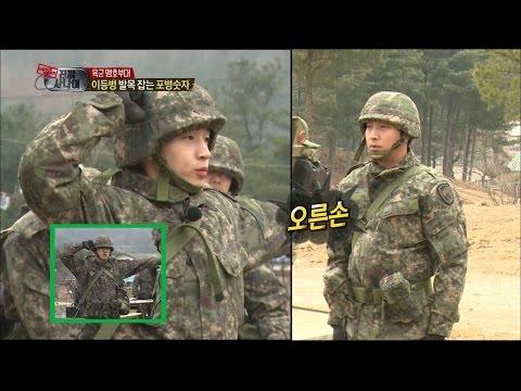 【TVPP】Henry - Difficult Army Learning, 헨리 - 헨리 잡는 포병숫자! 무한 얼차려 @ A Real Man