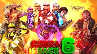 COBRA IS BACK 6 ||FREE FIRE COBRA SUPER HERO ||FF COBRA NEW 2021 SHORT FILM