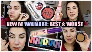 NEW MAKEUP GALORE   Walmart Mega Haul & Try-On