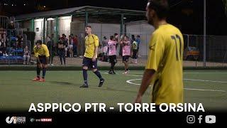 Asppico PTR Calcio - Torre Orsina Conad Arca (Calcio a 7)