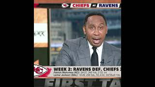 Stephen A. warns Jets fans: I will be talking about Zach Wilson's 4 INTs 🗣️   #Shorts