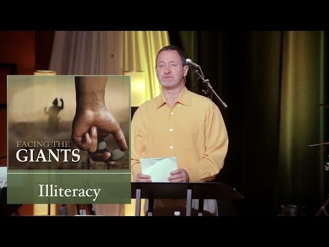 Mar 8, 2015  Facing the Giants:  Illiteracy [Pt 4], Pastor Kevin Cavanaugh