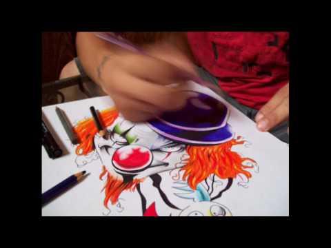 Baixar Tribal Art Tattoo - Desenho Palhaço (reprodução)