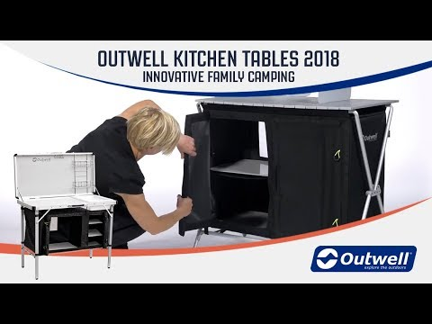 video Outwell Richmond Kitchen Table Review