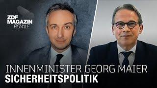 Deutsche Sicherheitspolitik - Thüringens Innenminister Georg Maier im Interview | ZDF Magazin Royale