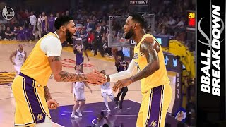 How Anthony Davis UNLOCKED LeBron To Lead The NBA In Assists