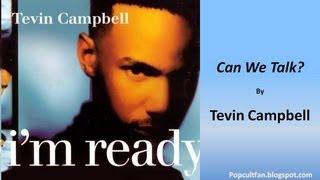 Tevin Campbell - Can We Talk? (Lyrics)