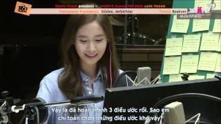 [Vietsub] 140819 Sunny FM Date with YoonA [SoShiTeam360kpop]