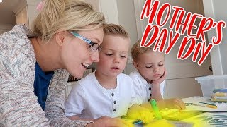 KIDS MAKE CUTE and SIMPLE DIY MOTHER'S DAY GIFT!   Ellie And Jared