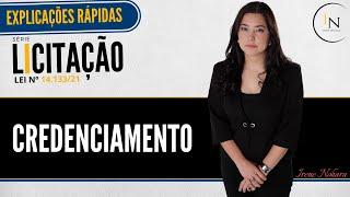 MIX PALESTRAS | Irene Patrícia Nohara | Credenciamento - Série Licitações