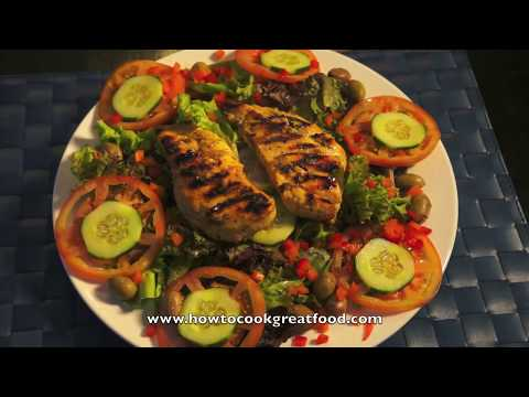 Olive Oil Grilled Chicken