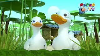 Pepe   Çocuk Şarkıları YENİ   5 Yavru Ördek   Five Little Ducks I Düşyeri