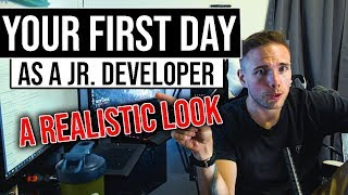 Your REALISTIC FIRST DAY As a Jr. Developer #grindreel