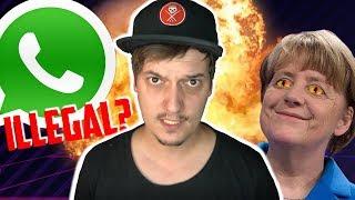 Klage gegen Merkel-Regierung & Geldstrafe, wenn du Whatsapp benutzt?