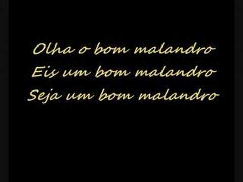Baixar BOM MALANDRO (MUSICA E LETRA)