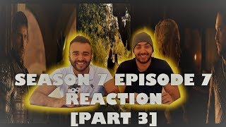 "Game of Thrones Season 7 Episode 7 [Part 3] REACTION!! ""The Dragon and the Wolf"""