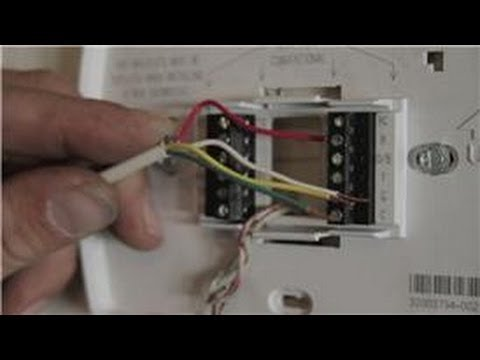 Central Air Conditioning Information How To Wire A