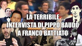 L'imbarazzante intervista di PIPPO BAUDO a FRANCO BATTIATO