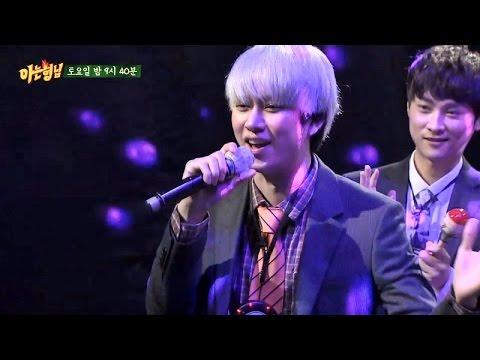 [미공개] 김희철(Kim Hee Chul) 노래방 가창력 폭발 - 아는 형님(Knowing bros) 4회
