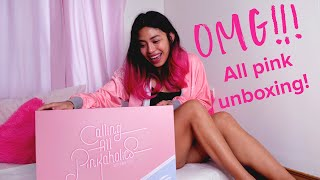 UNBOXING ASUS ROG PINK LTD PERIPHERALS// ALL PINK GAMING ACCESSORIES!