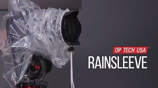 OP/TECH Rainsleeve